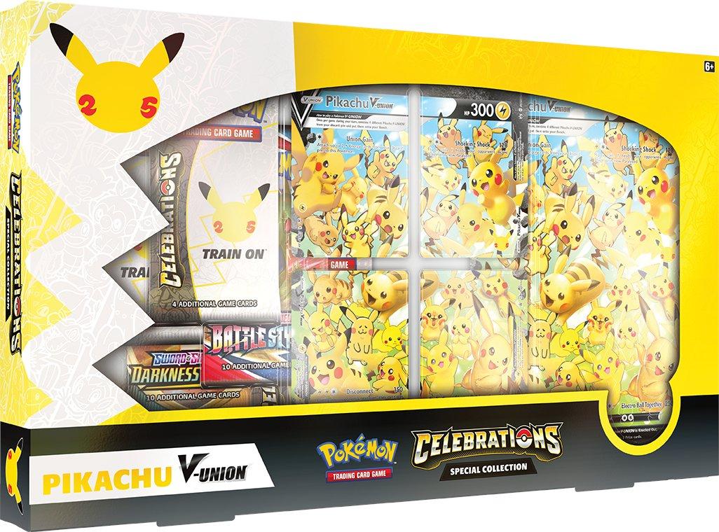 La date de sortie du coffret célébration pikachu V union est tomber !